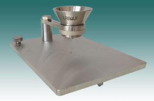 HMKFlow 316 Aluminium Oxide Angle of Repose Tester